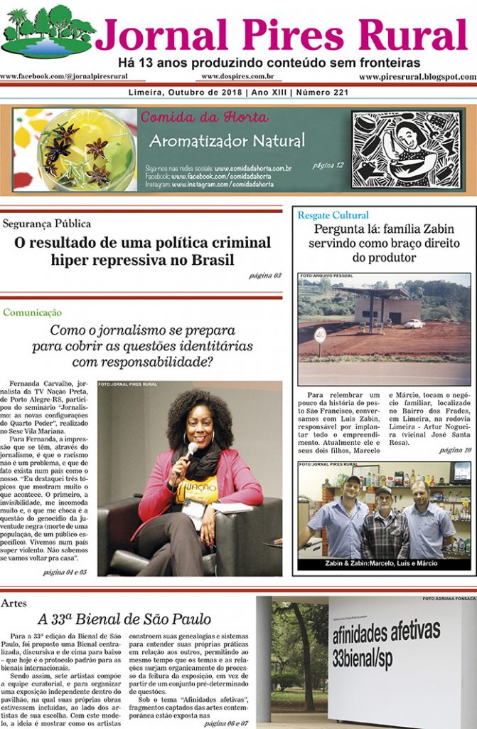 Edição 221 - Jornal Pires Rural - Outubro 2018