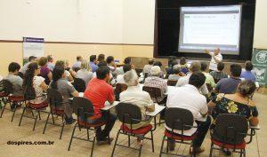 Palestra do Sindicato Rural de Mogi Mirim em Artur Nogueira - SP