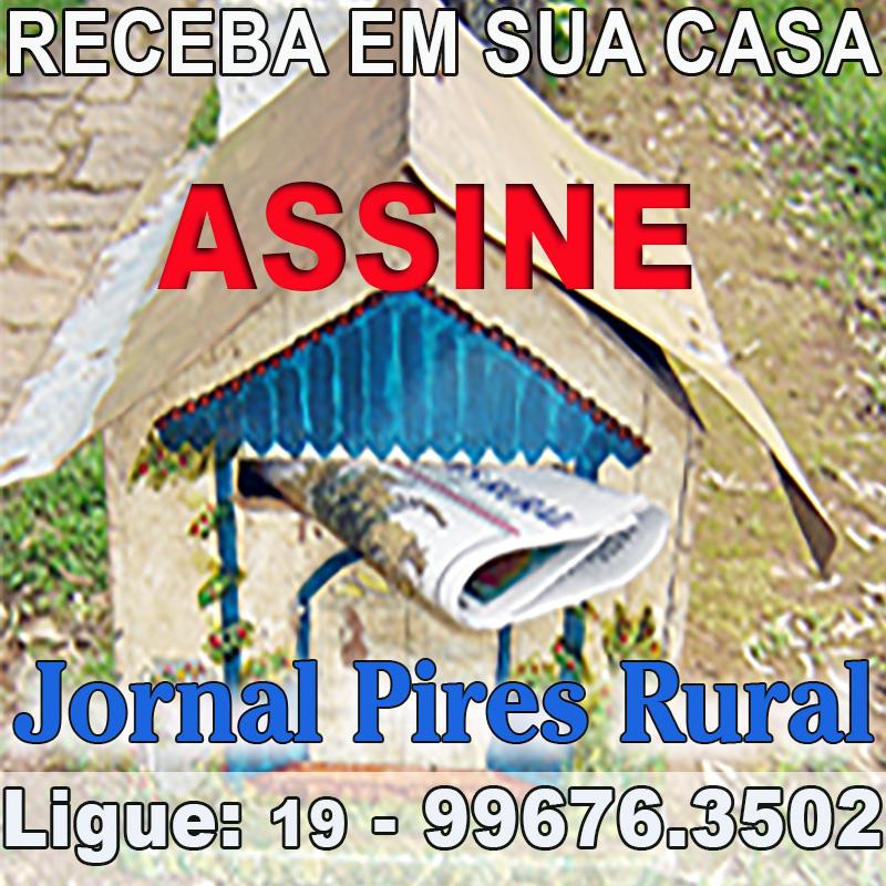 Assine Jornal Pires Rural - 19.99676.3502