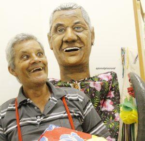 Vovô Curiãngo, figura do Carnaval de São Luiz do Paraitinga