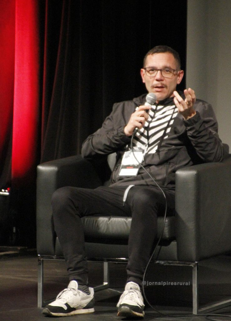 André Maleronka, editor-chefe da revista VICE Brasil