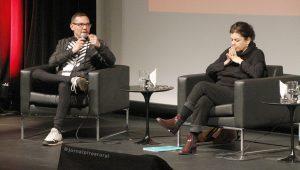 André Maleronka, editor-chefe da VICE Brasil e Cleusa Turra, jornalista da Folha de S. Paulo