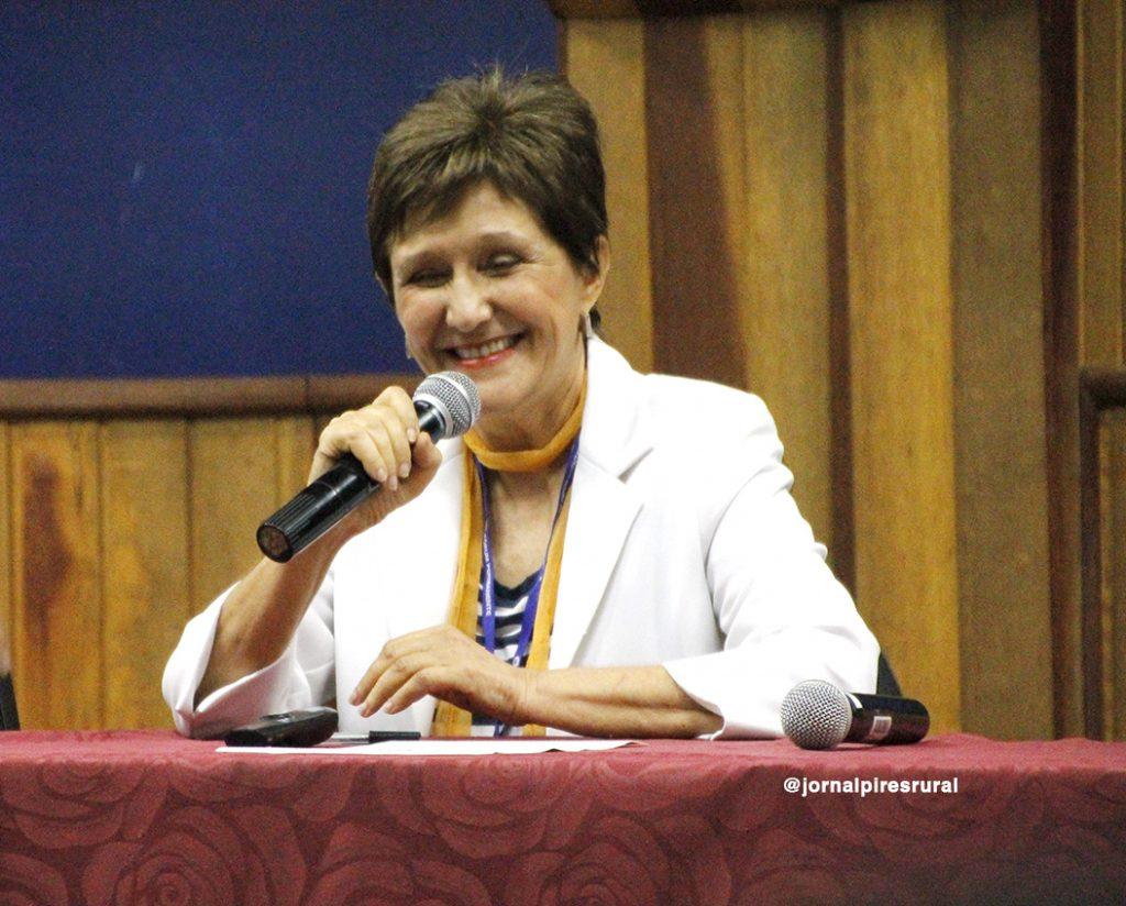 Dra. Ermínia Maricato, arquiteta, ocupou cargos públicos na cidade de São Paulo