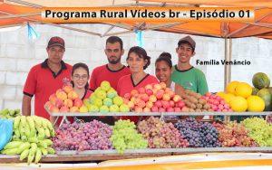Programa RURAL VÍDEOS BR - Primeiro episódio