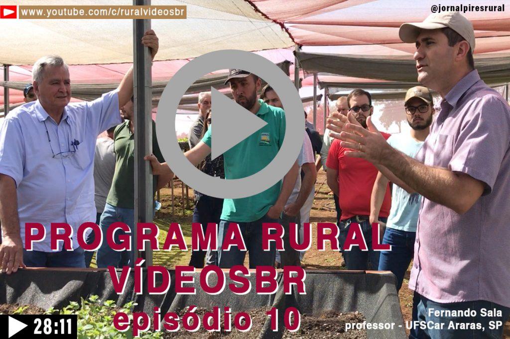Clique na imagem acima para assistir O Décimo episódio do Programa Rural Vídeos Br