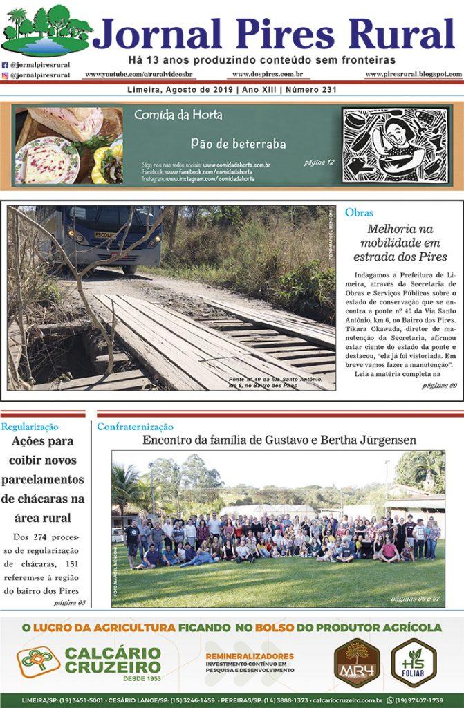 Jornal Pires Rural - Agosto 2019 - edição 231