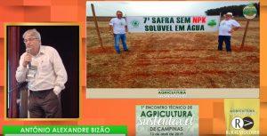 Antônio Bizão, engenheiro agrônomo, esteve em Campinas