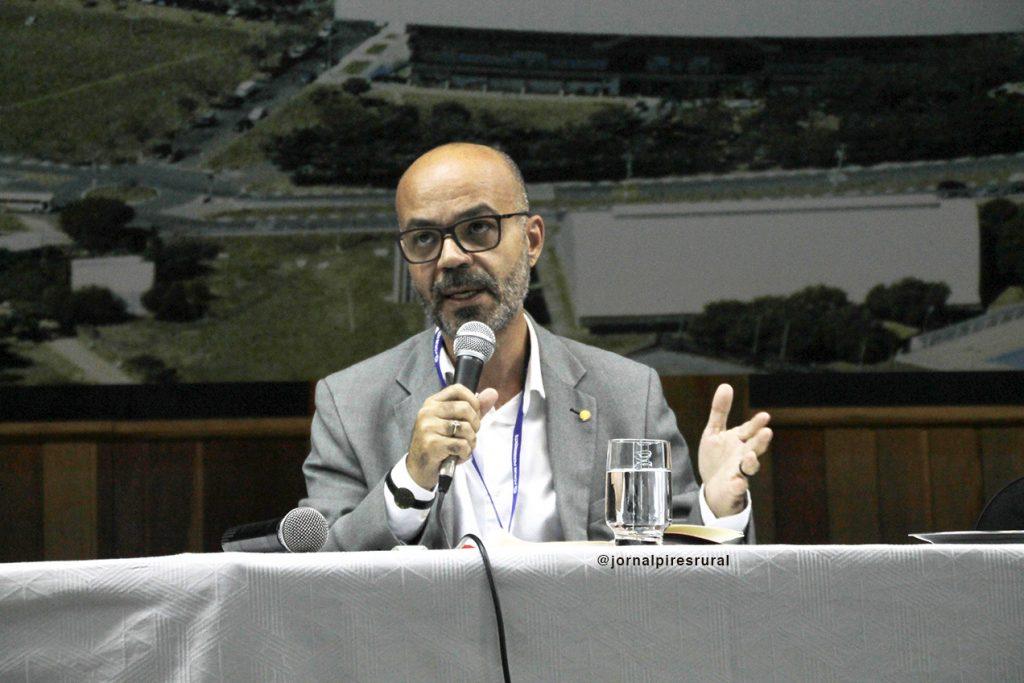 """Cel. Íbis Silva Pereira, PM-RJ, no Fórum: """"Ameaças à democracia e a atualidade dos direitos humanos"""""""