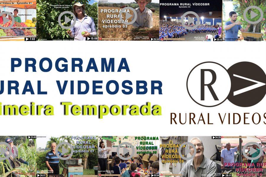 Programa RURAL VÍDEOS – A primeira temporada