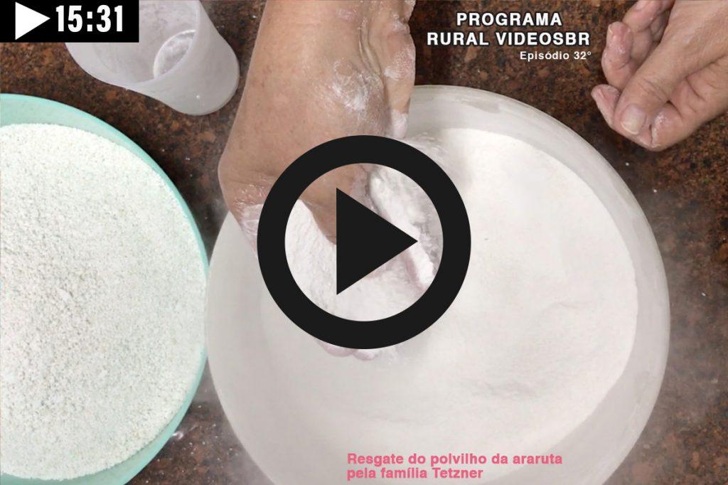 Episódio 32 - Clique na imagem para assistir o Programa RURAL VÍDEOS BR Assista: Polvilho de Araruta