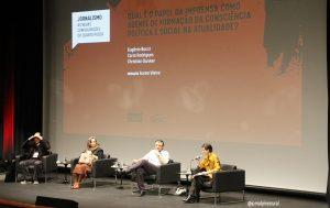 """seminário """"Jornalismo e as configurações do quarto poder"""""""