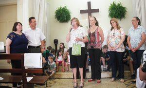 Homenagem das Servas na Igreja Luterana Cristo Pires aos 30 anos de pastorado do Pr Osmar Schneider
