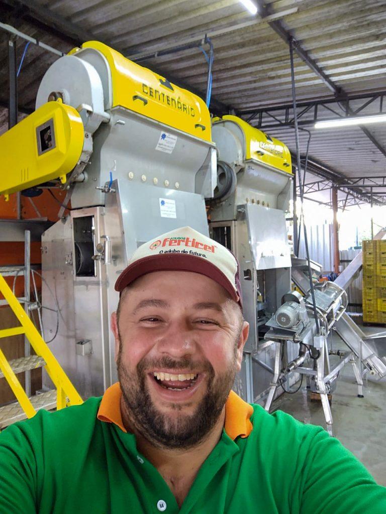 Luiz Eduardo Boscheiro, 36 anos, produtor rural no bairro Morro Alto, em Limeira.