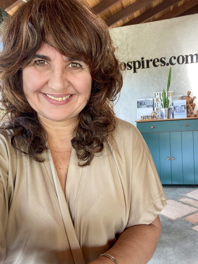 Autora Adriana Fonsaca, psicóloga e editora do Jornal Pires Rural e Wasacz Editora