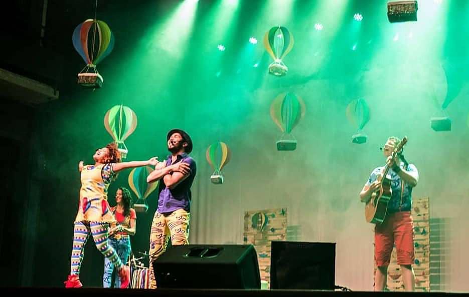 """Cristiele Araújo é integrante do grupo de música infantil """"Formiga Balão"""" (Foto:Laila Zalkauska)"""