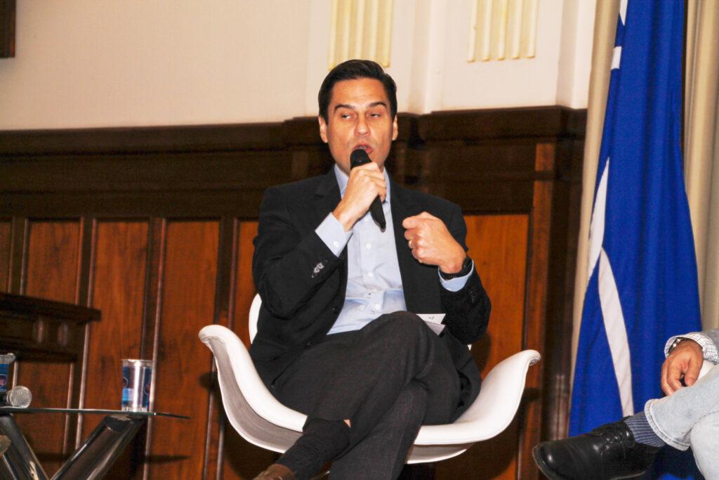 Secretário da Agricultura, Gustavo Junqueira