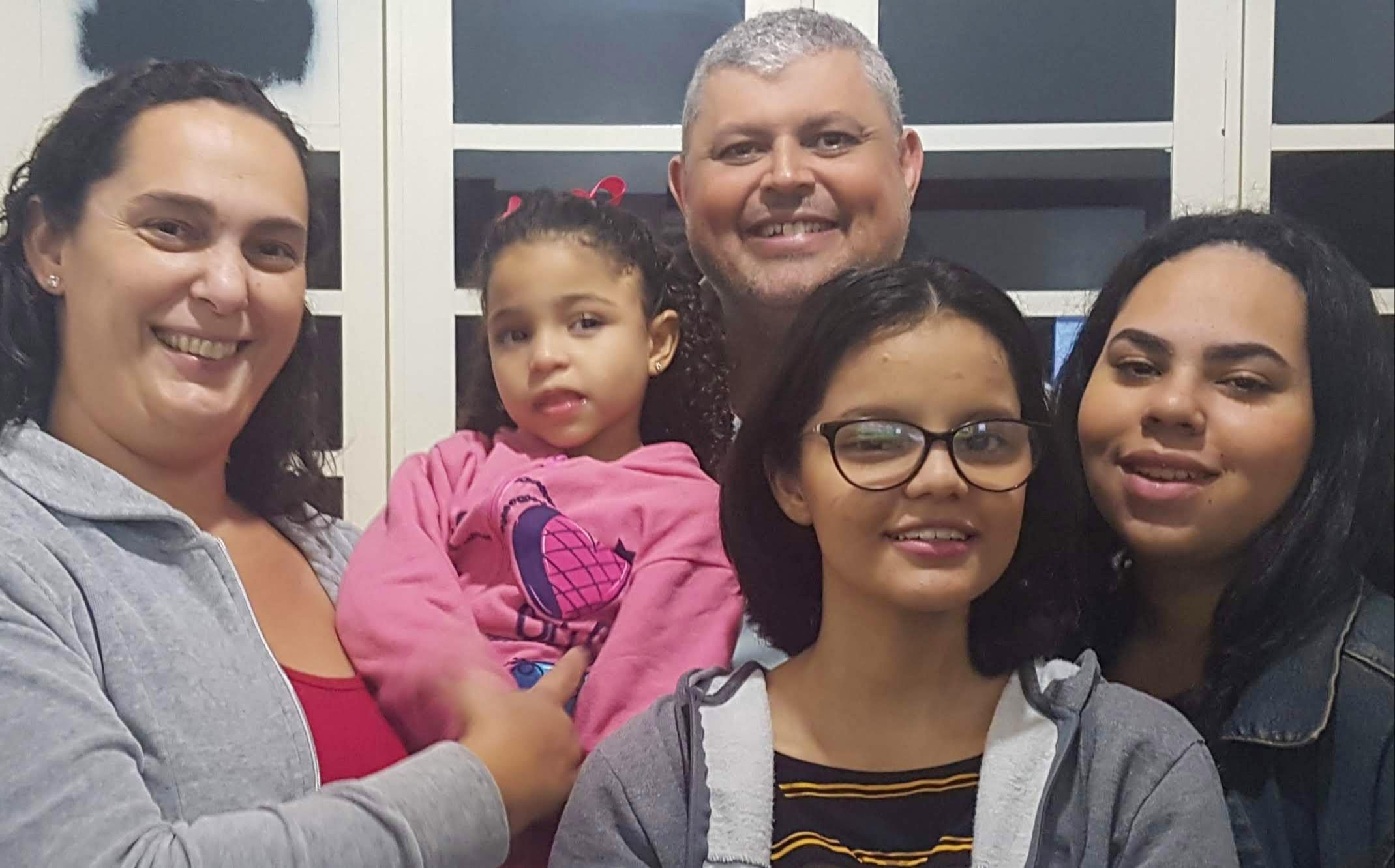 Neíza, Maria Eduarda, Ismael, Eliza, Lívia