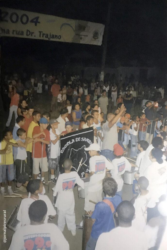 2004, em Limeira, Carnaval organizado pela Prefeitura Municipal