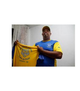 Salvador Ademir Pereira, presidente da escola de samba Lobo de Prata, Limeira, SP.