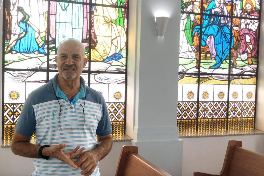 Entrevista Valdevino Vieira, presidente da Associação Casa de Apoio Romeiros de Nossa Senhora Aparecida – C.A.R.A.