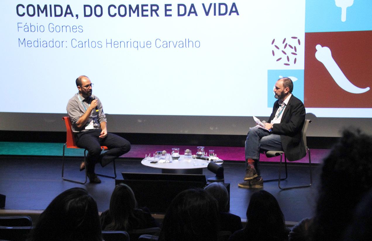 O nutricionista Fábio Gomes e Carlos Henrique Carvalho