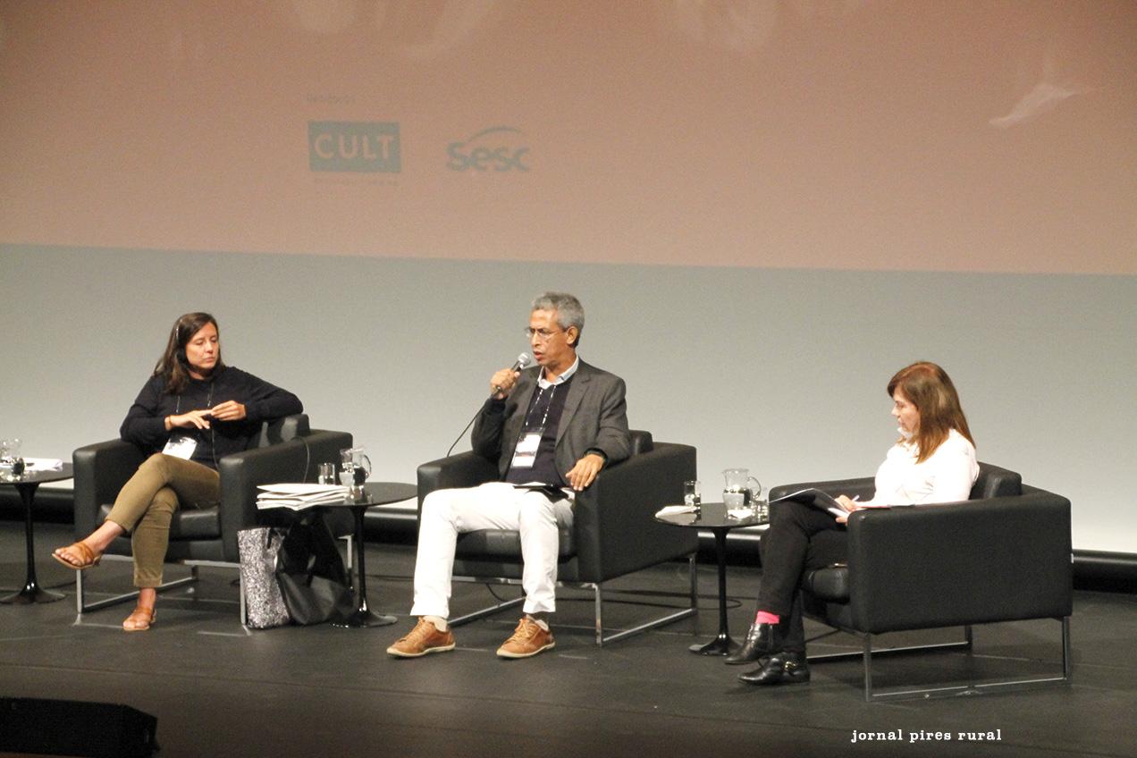 Manon Paulic, Professor Wilson Nunes e Maria Elisabete Antonioli