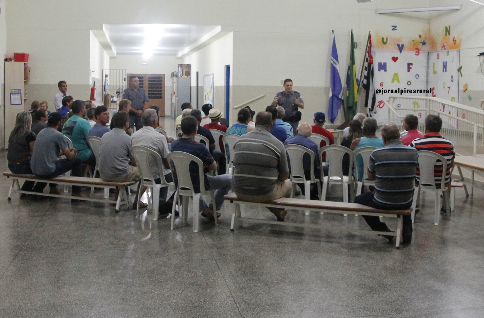 Reunião realizada no bairro dos Pires