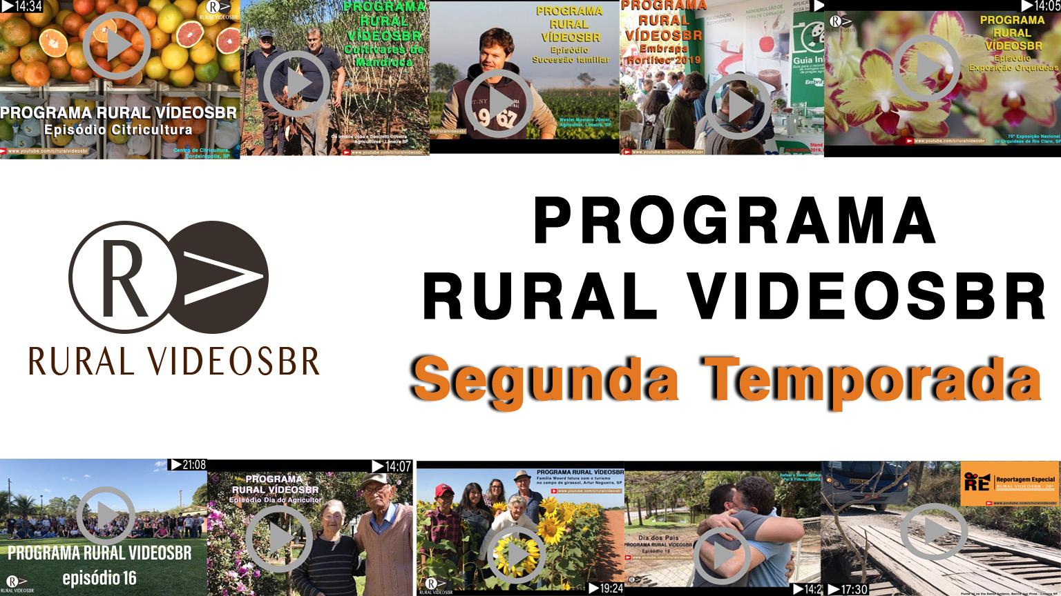 A segunda temporada do programa RURAL VÍDEOS está temática