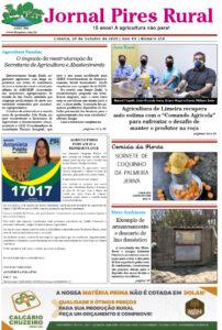 Capa Jornal Pires Rural - 20 de outubro 2020 - Edição 250