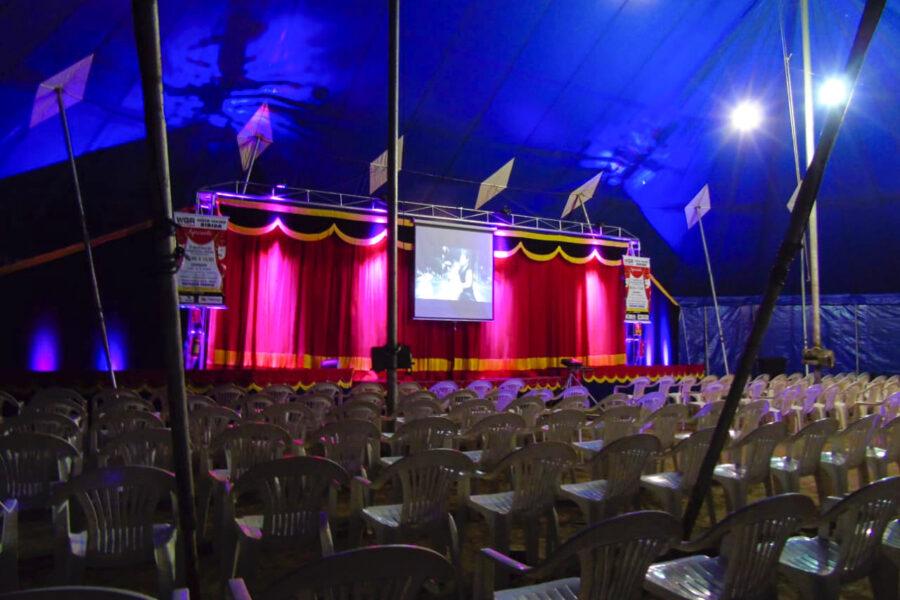 As atividades do Circo Teatro Biriba